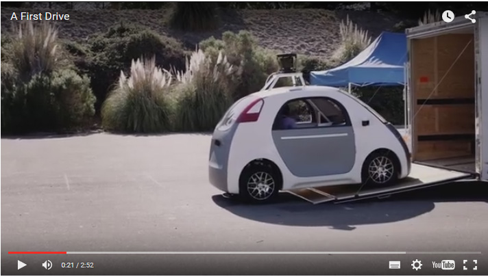 COCHES SIN CONDUCTOR DE GOOGLE
