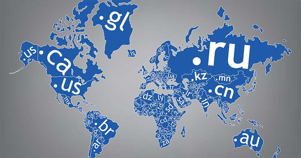 Las tres claves del seo internacional. Extension de dominio geográfica.